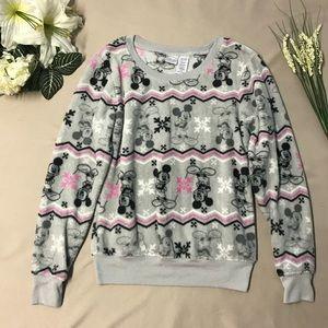 Disney Plush Fairisle Mickey Mouse Sweater